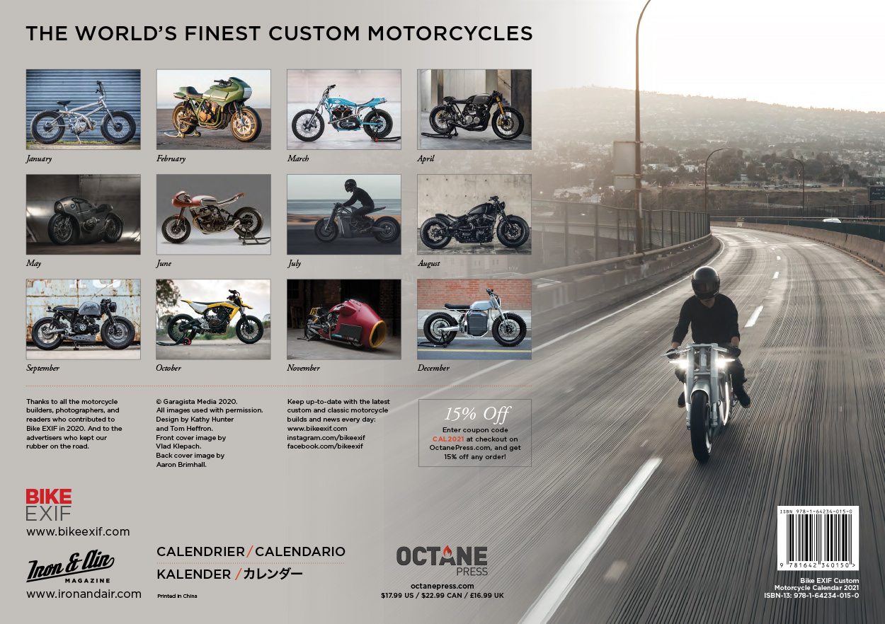 On Sale Now: The 2021 Bike EXIF Motorcycle Calendar | Bike EXIF