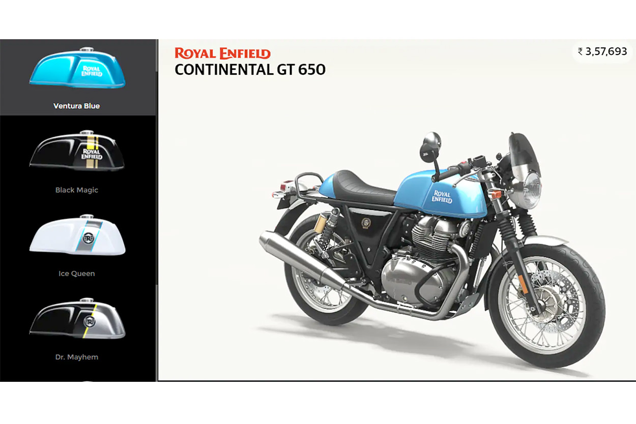 Royal Enfield 'Make-It-Yours' program