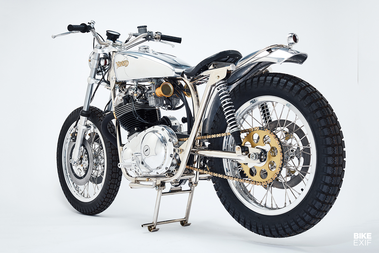Trackmaster special motorcycle by NYC Norton