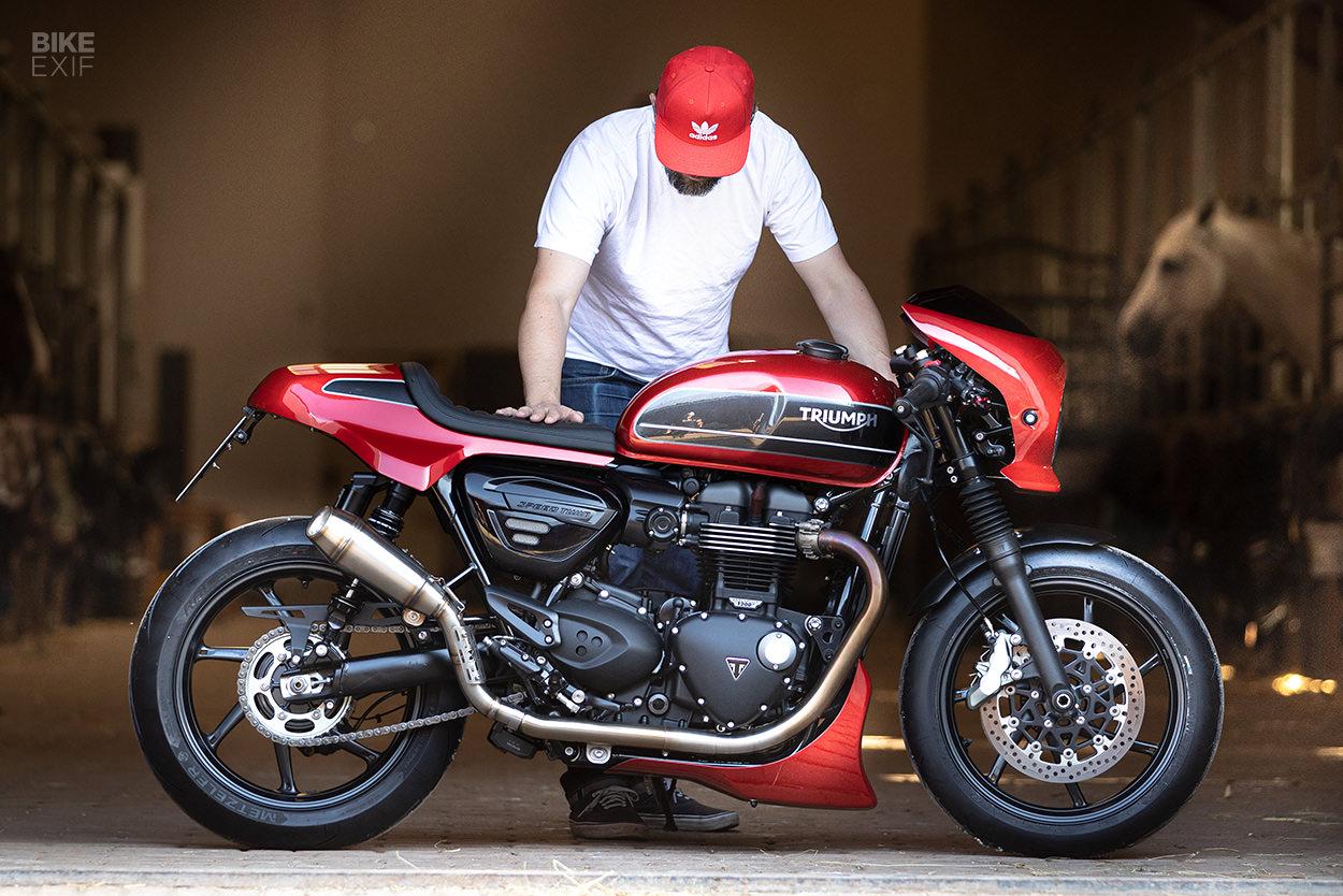Triumph Speed Twin custom kit by Rennstall Moto