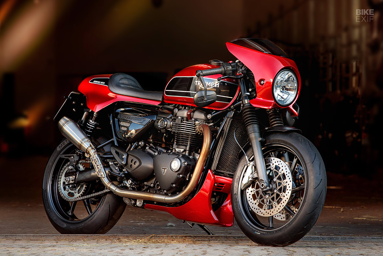 Triumph Speed Twin custom kit by Rennstall Moto