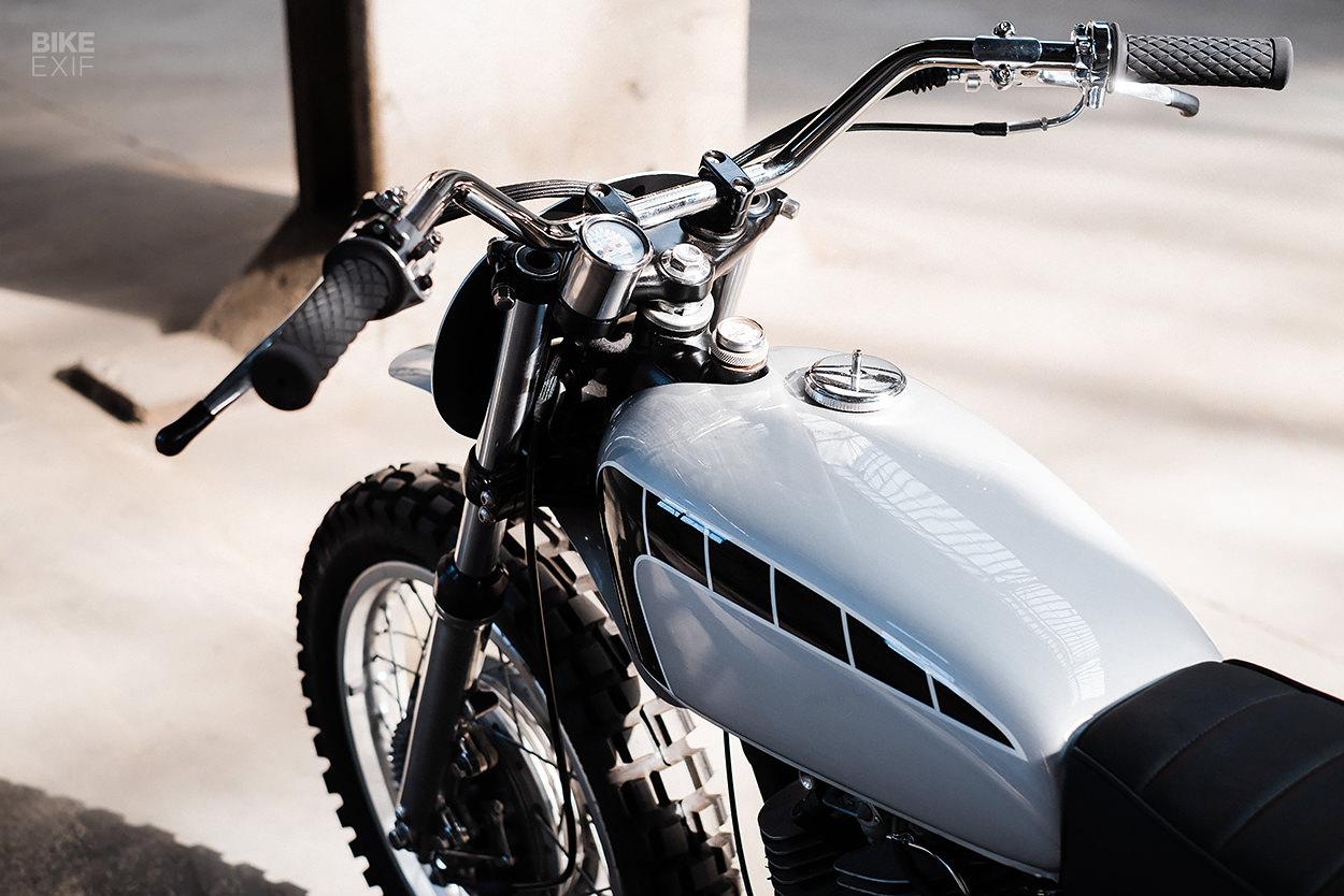 Yamaha SR500 custom by Hombrese Bikes
