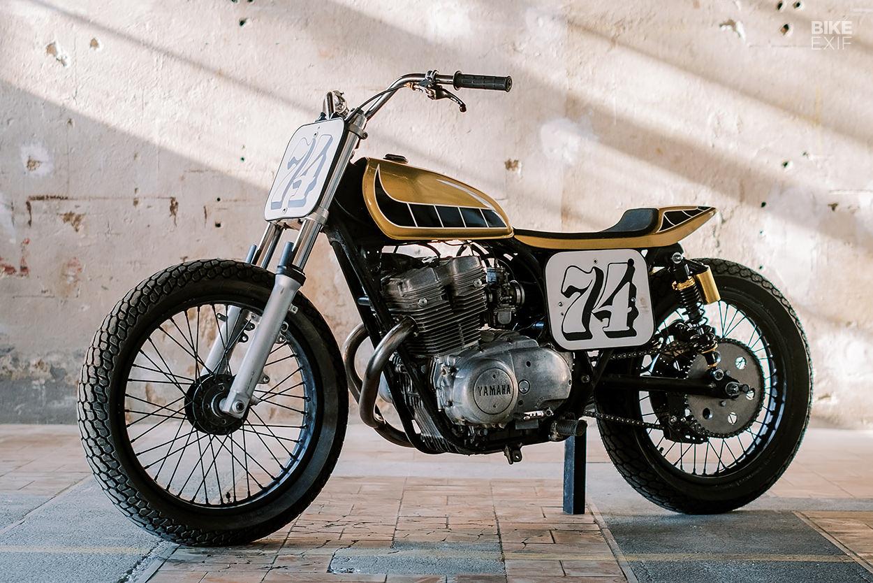 Yamaha XS500 custom by Hombrese Bikes