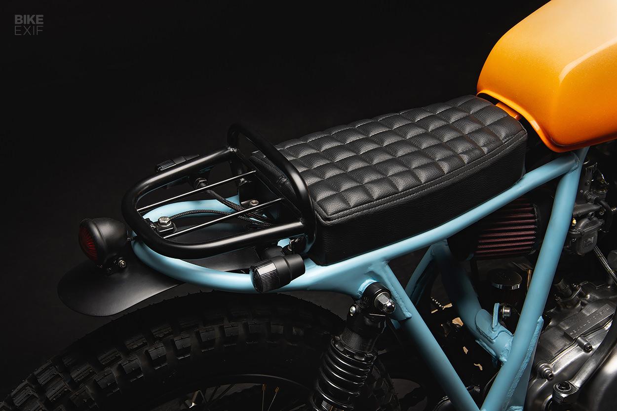 Yamaha Sr500 street tracker by 6/5/4 Motors