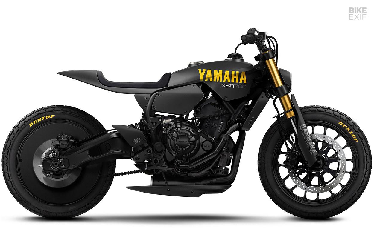 Yard Built Yamaha XSR700 render by Barbara Motorcycles