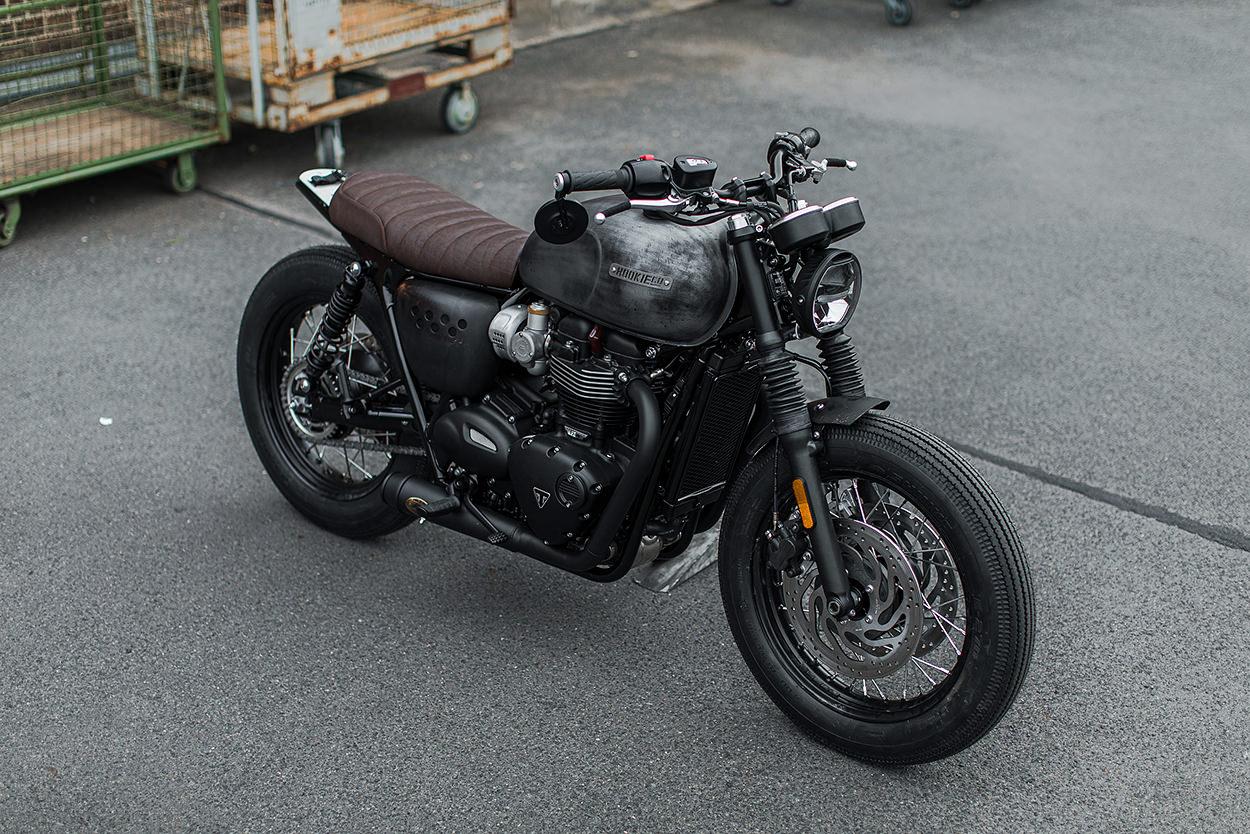Custom Bonneville T120 by Hookie Co.