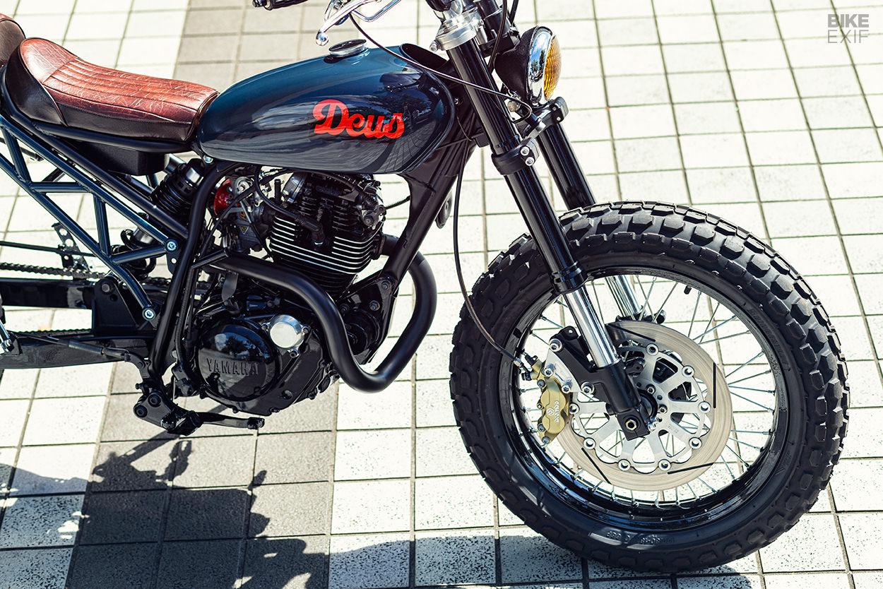 Custom Yamaha TW225 in the Suka-Tune style by Deus Japan