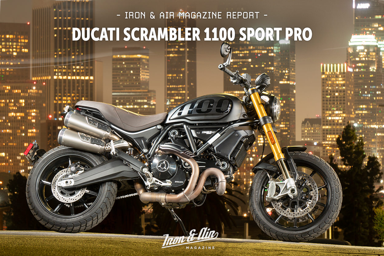 Review: The Ducati Scrambler 1100 Sport Pro