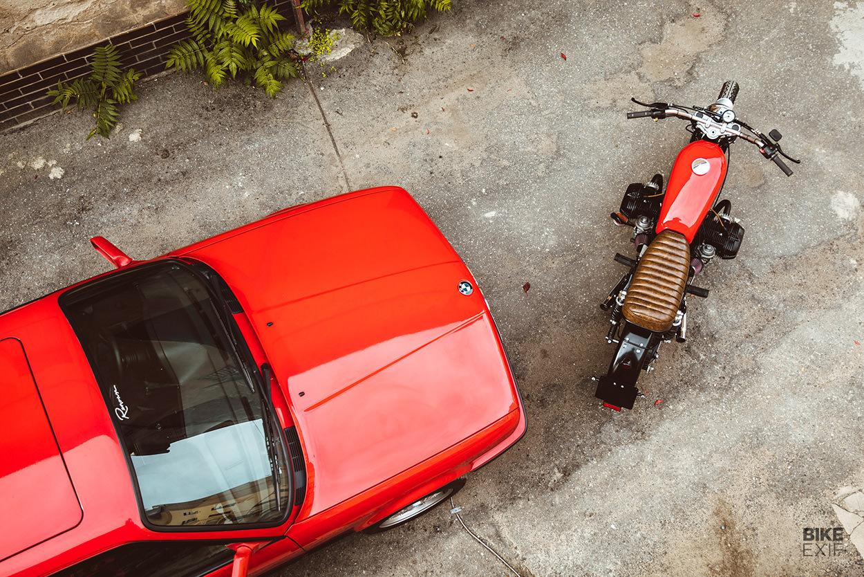 BMW R65 scrambler by Gas & Oil