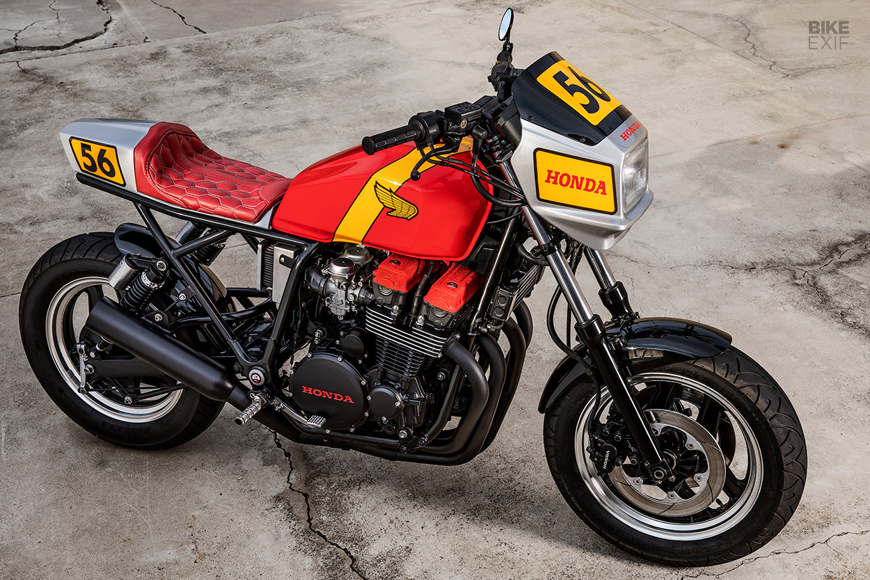 1984 Honda CB700SC Nighthawk restomod