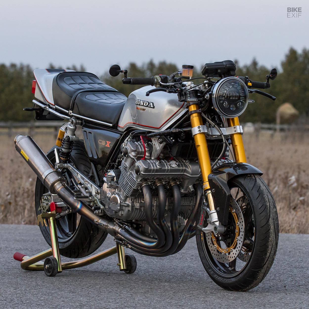 Honda CBX1000 restomod by dB Customs