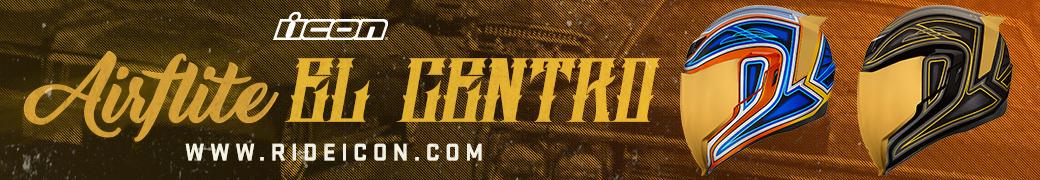 Discover the ICON Airflite El Centro helmet