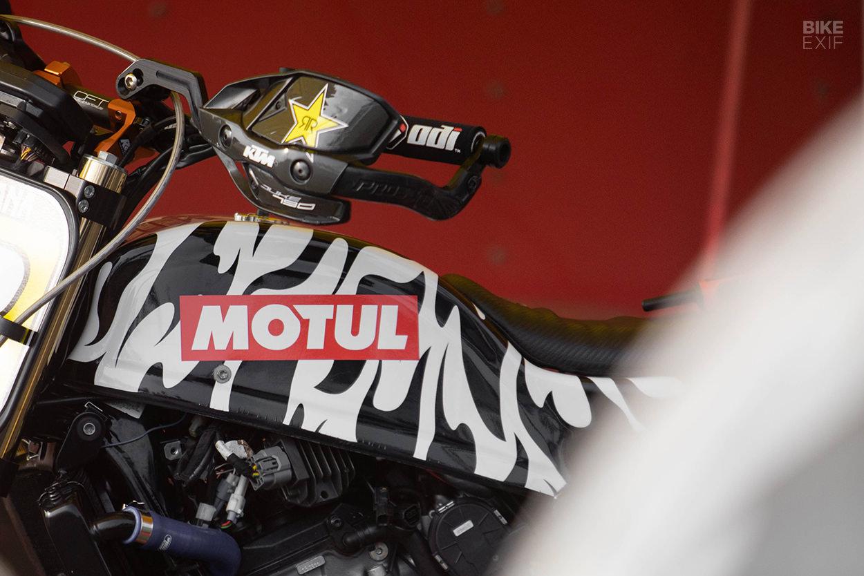 Andy DiBrino's KTM 790 Duke drift bike