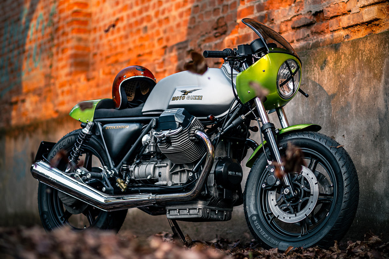 Moto Guzzi 850 T5 by Remastered Cycle
