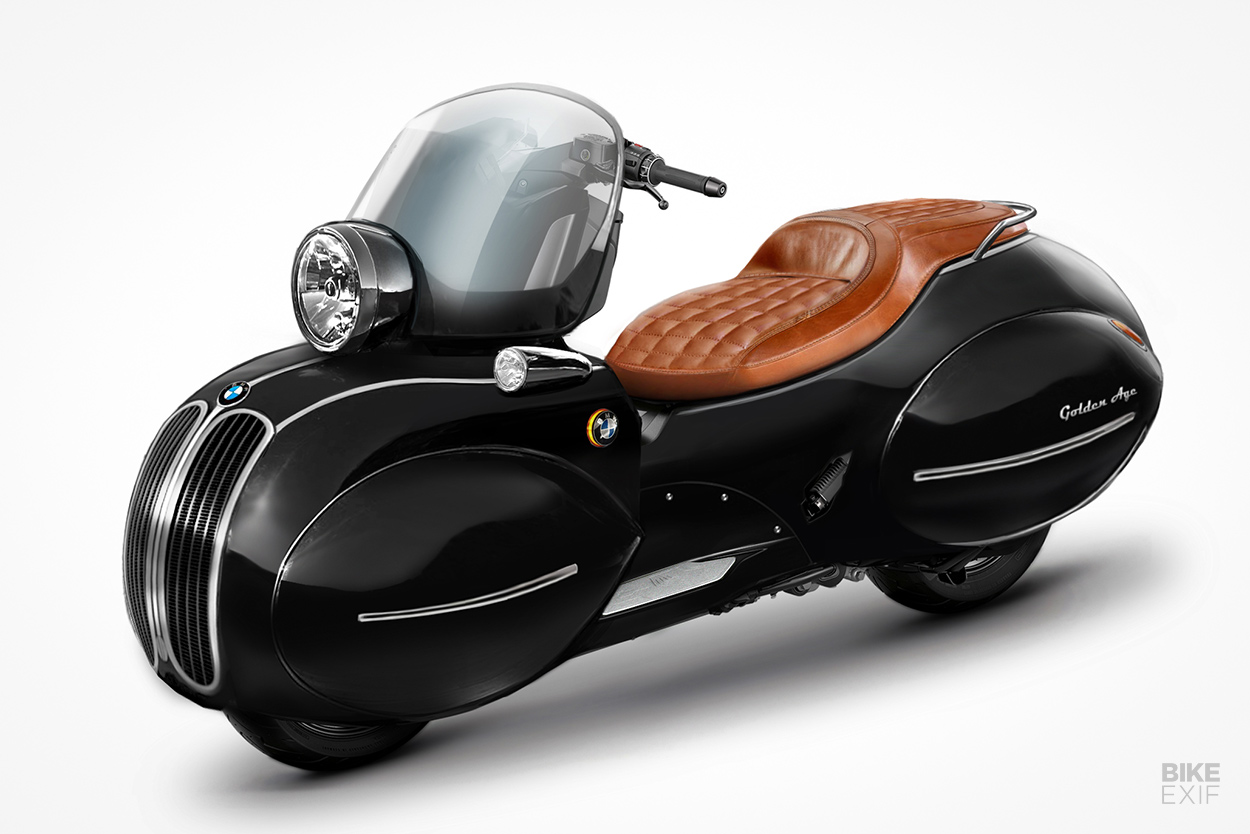Nmoto Golden Age BMW scooter concept