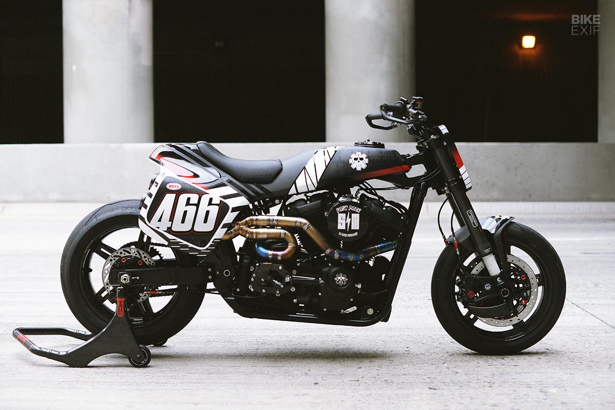 Harley-Davidson Softail street tracker by SMCO