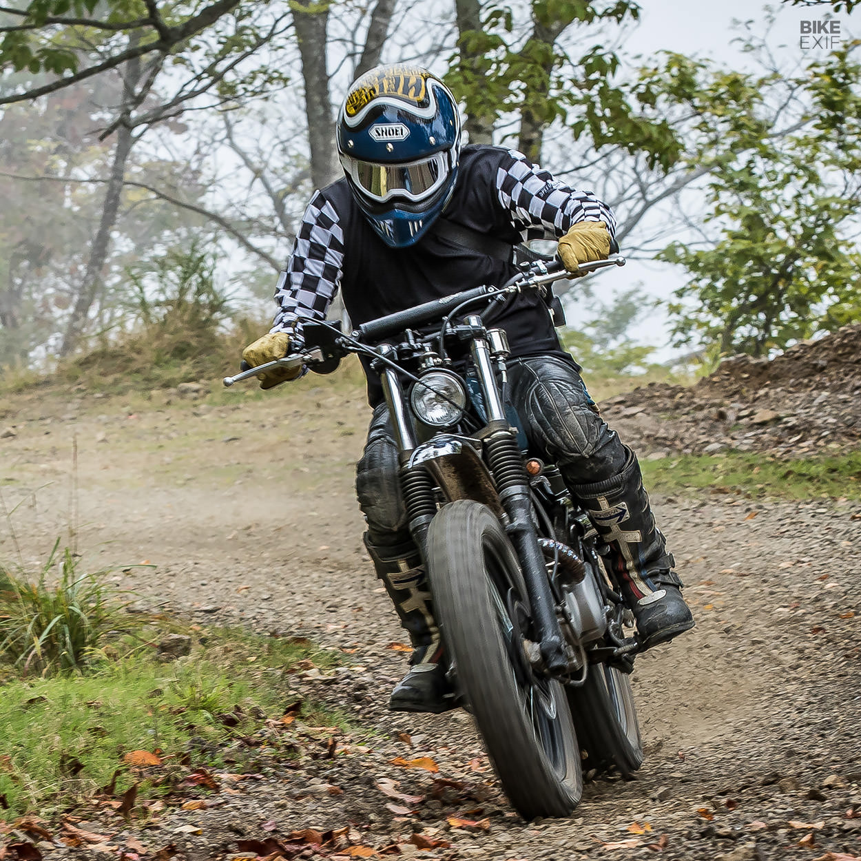 Suzuki TU250 scrambler by Heiwa Motorcycle