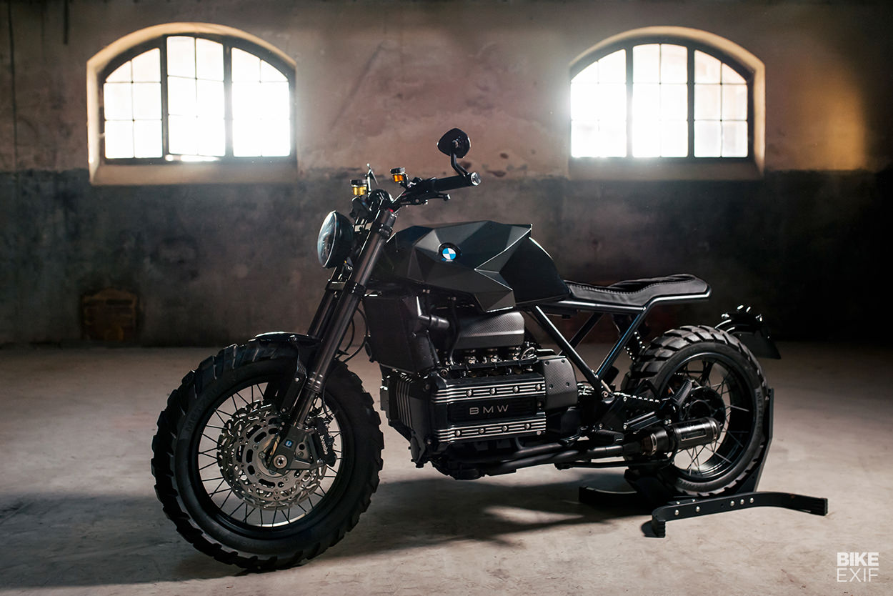 1986 BMW K100 cafe racer by Crooked Motorcycles