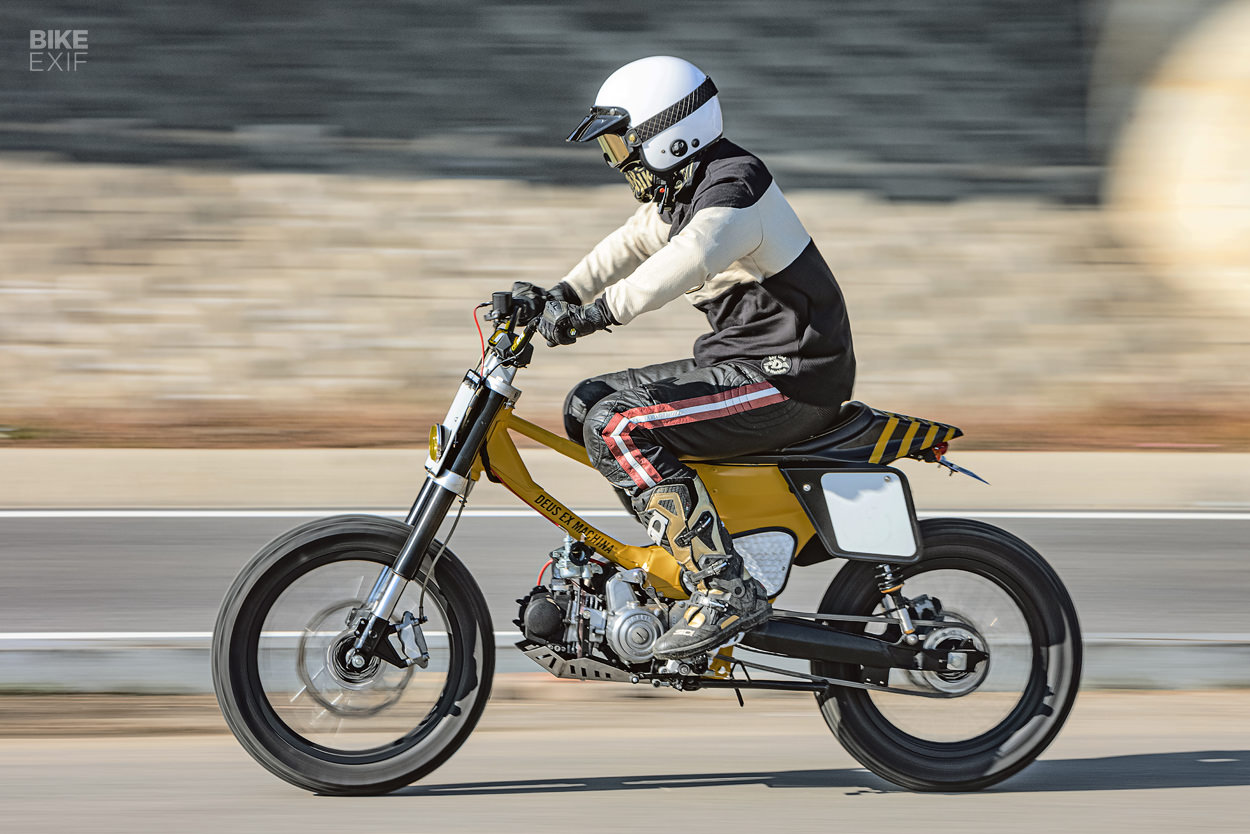 Custom Daelim Citi Ace 110 scooter by Crazy Garage