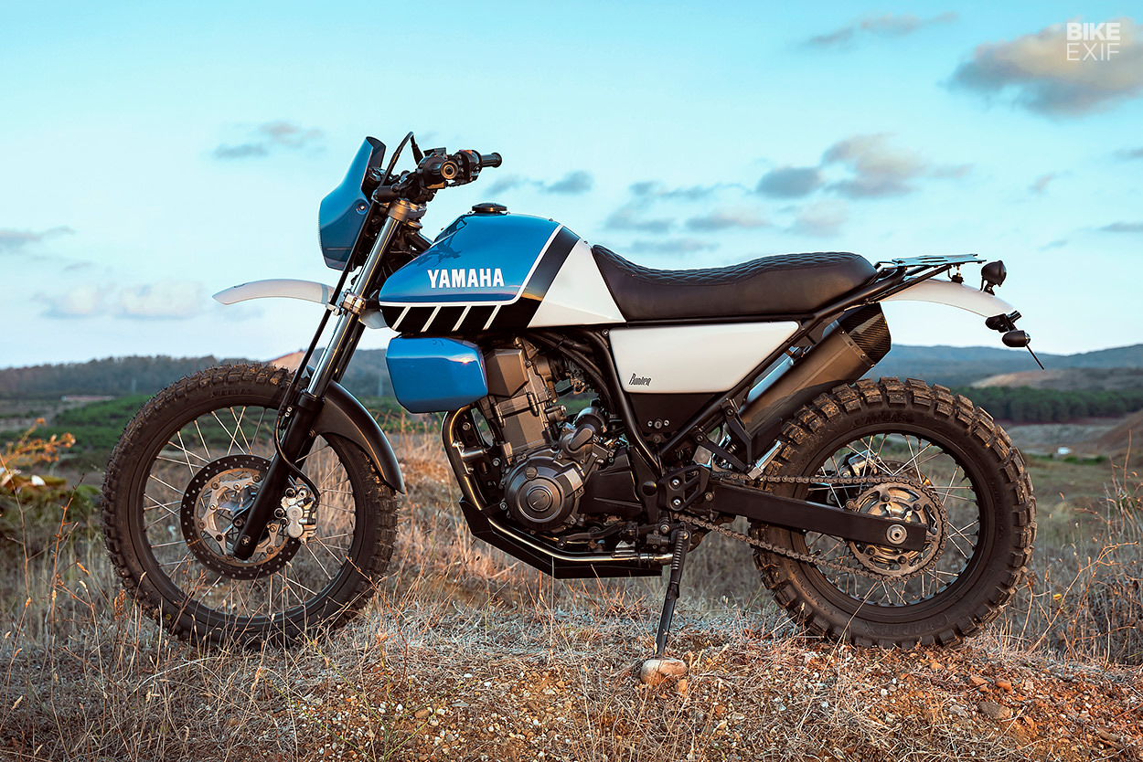 Custom Yamaha XT660R by Bunker