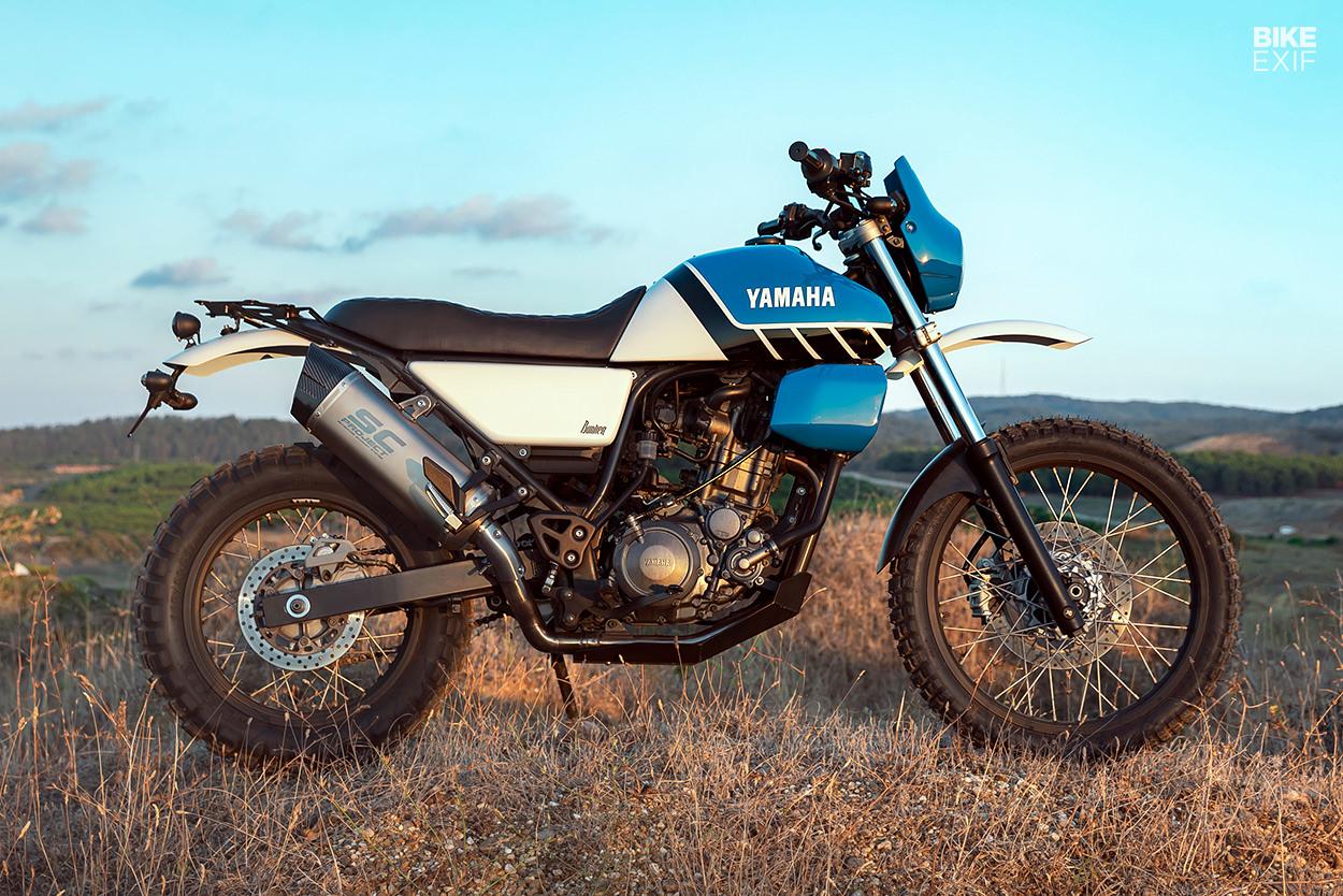 Custom Yamaha XT660R by Bunker