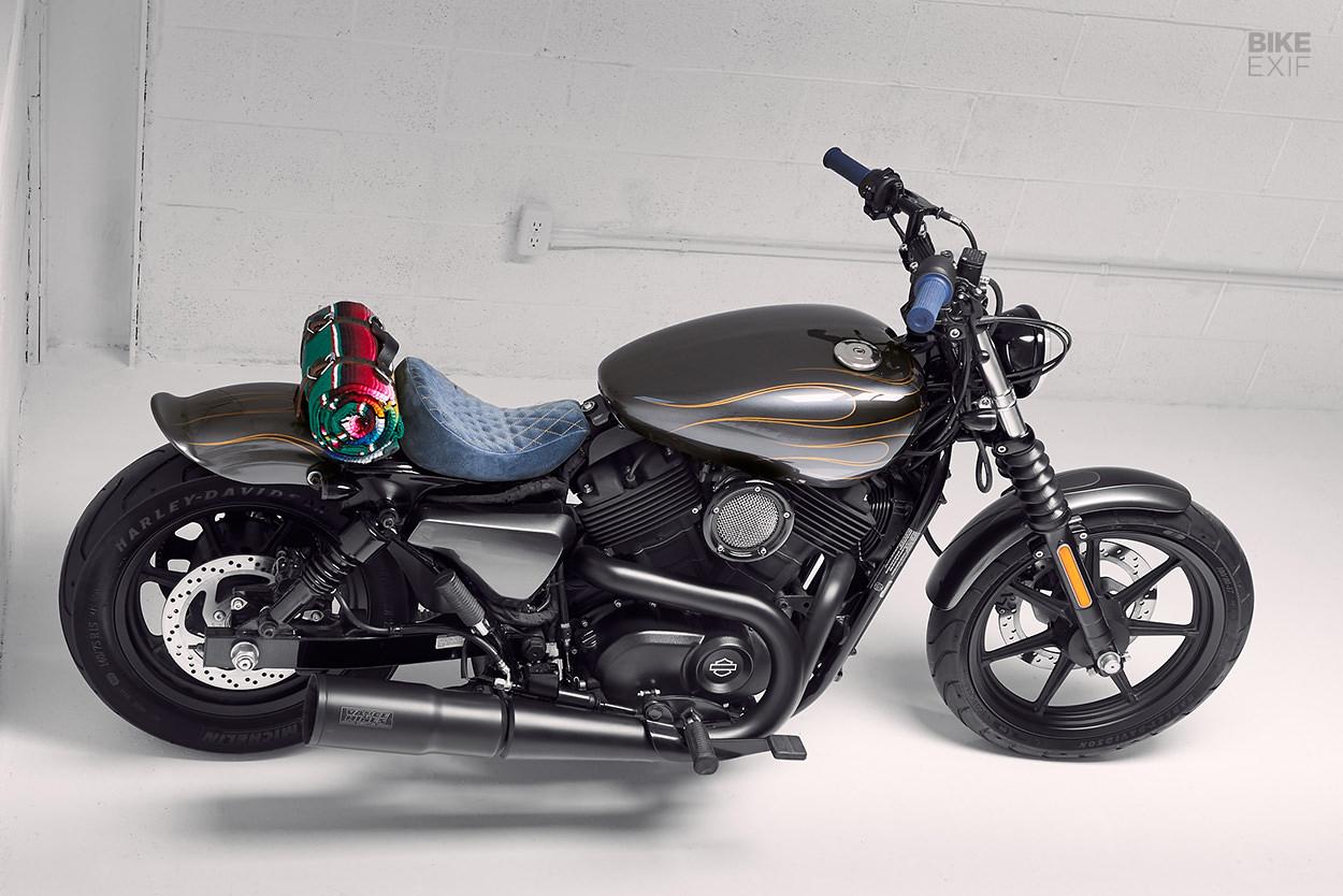 Harley-Davidson Street 500 bobber by Augment Motor Works