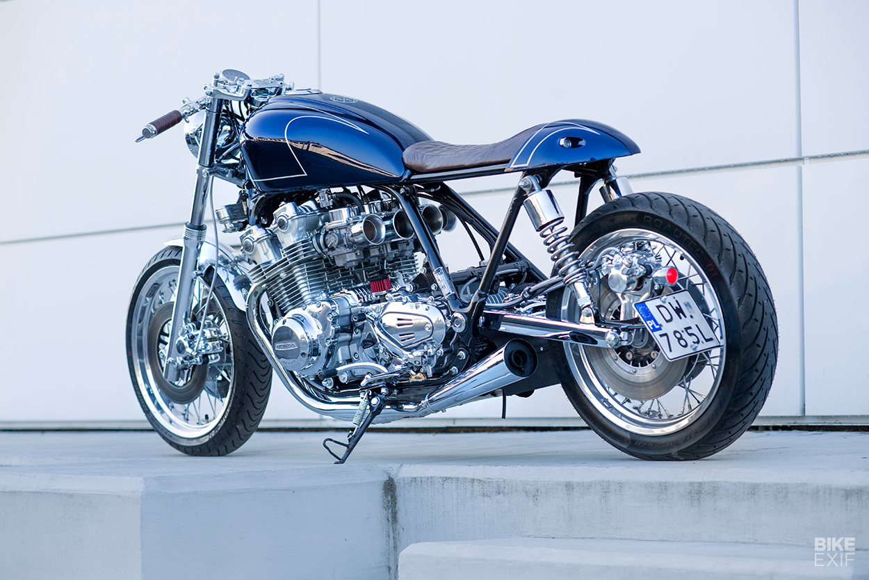 Ten-speed Honda CB900C cafe racer by Unikat