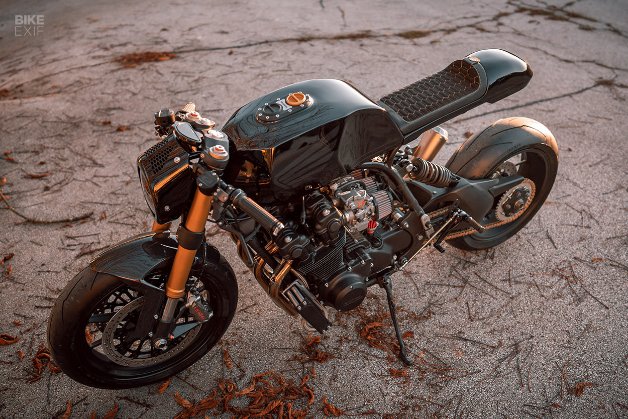 Honda CB900F custom by NCT Motorcycles