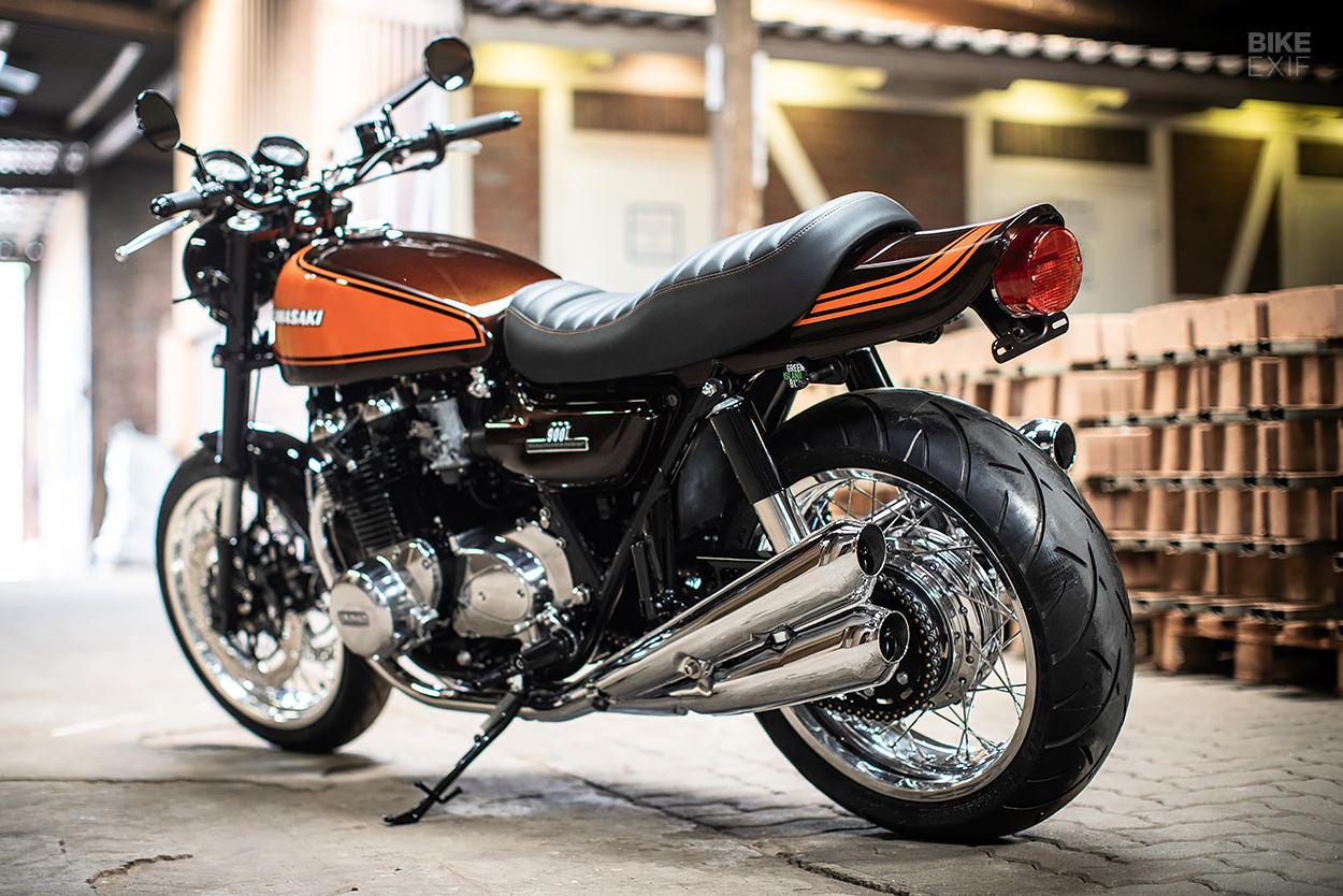 Kawasaki Z1000 by Green Island Bikes