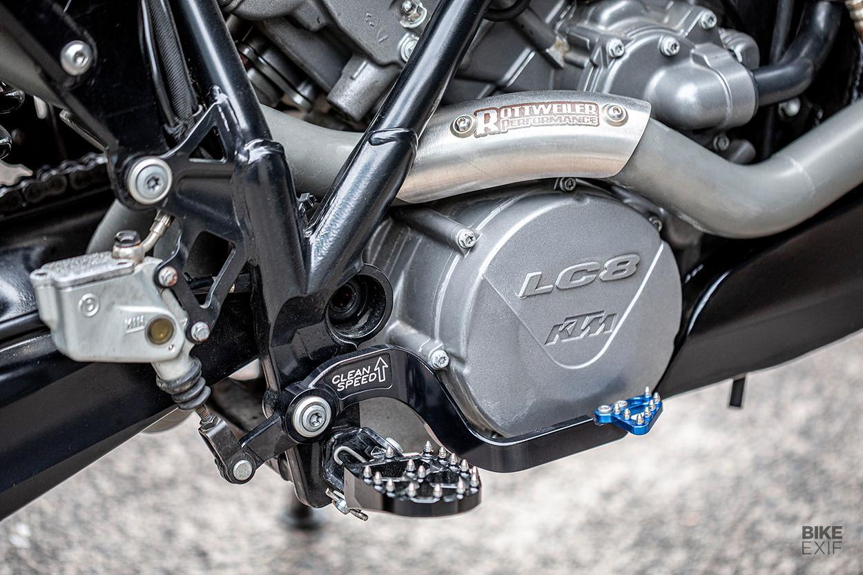 Custom KTM 990 SMT supermoto