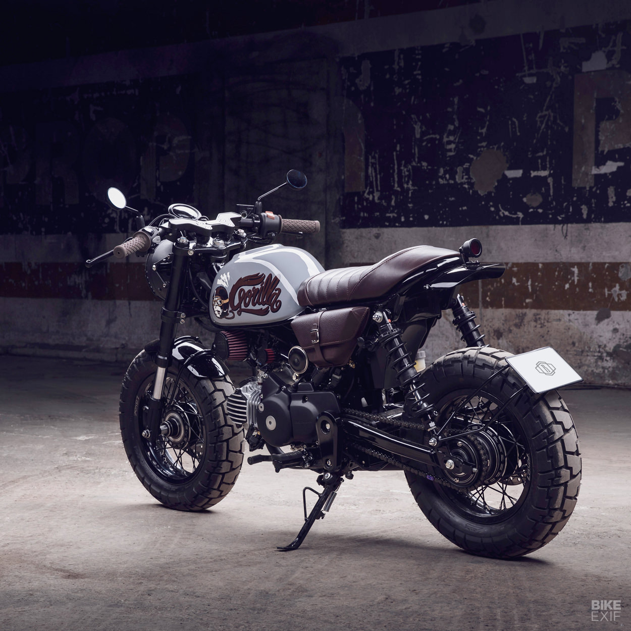 Custom Honda Monkey Z125 by Bunker