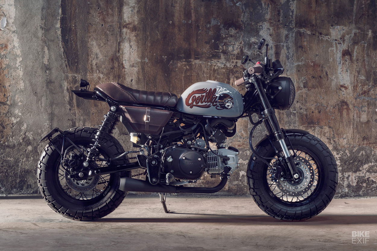 Custom Honda Monkey Z125 by Bunker