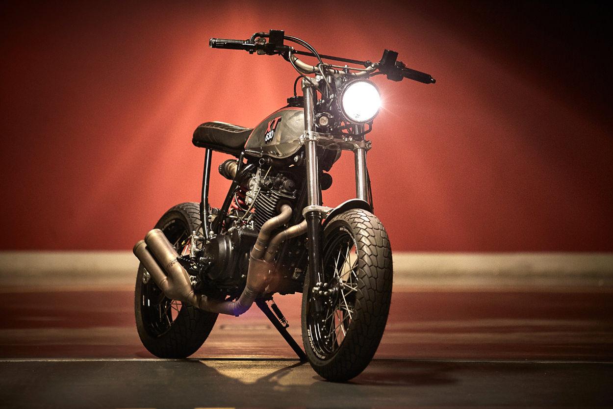 Yamaha XT600 supermoto by 86 Gear Motorcycles