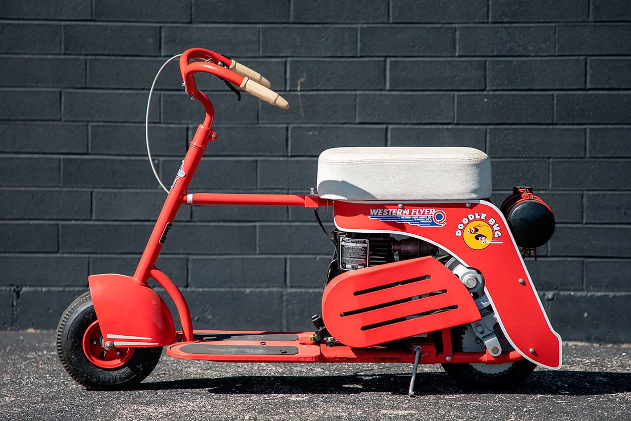 The 1940s Doodle Bug scooter