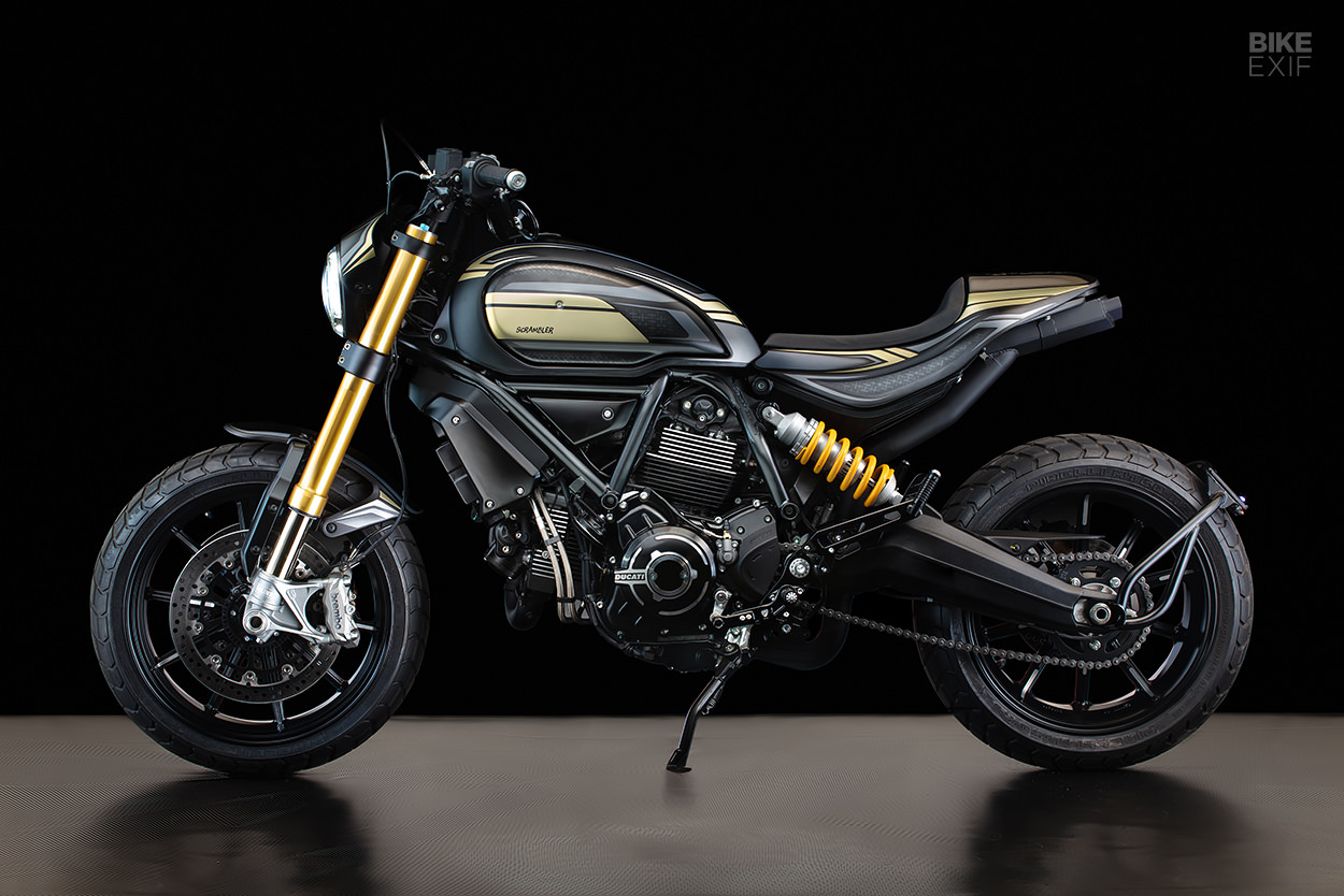 Ducati Scrambler 1100 by Gasoline Motor Co.