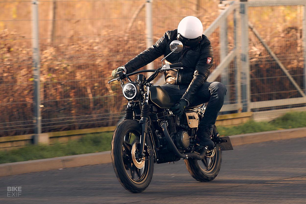 Honda CB450 Nighthawk scrambler by JasinTom
