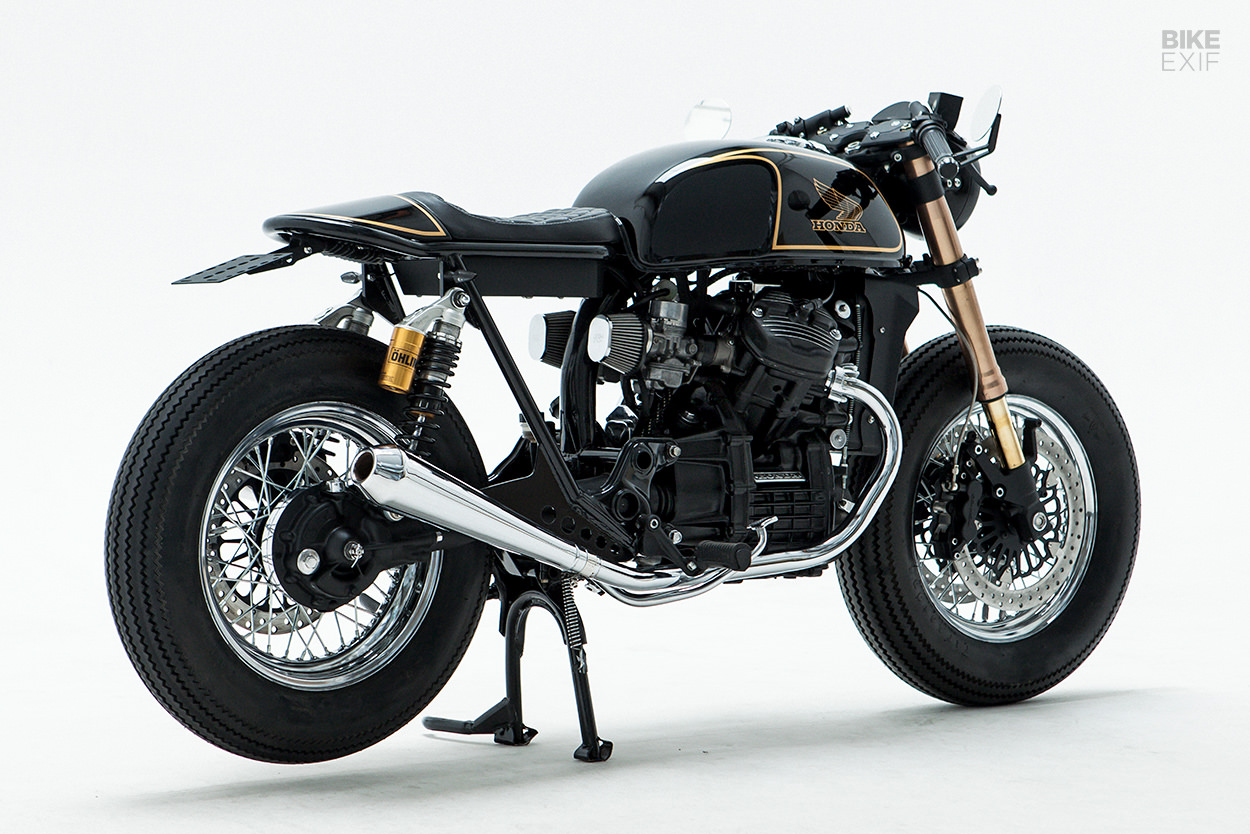 Honda CX500 cafe racer by Invader Cycle Company