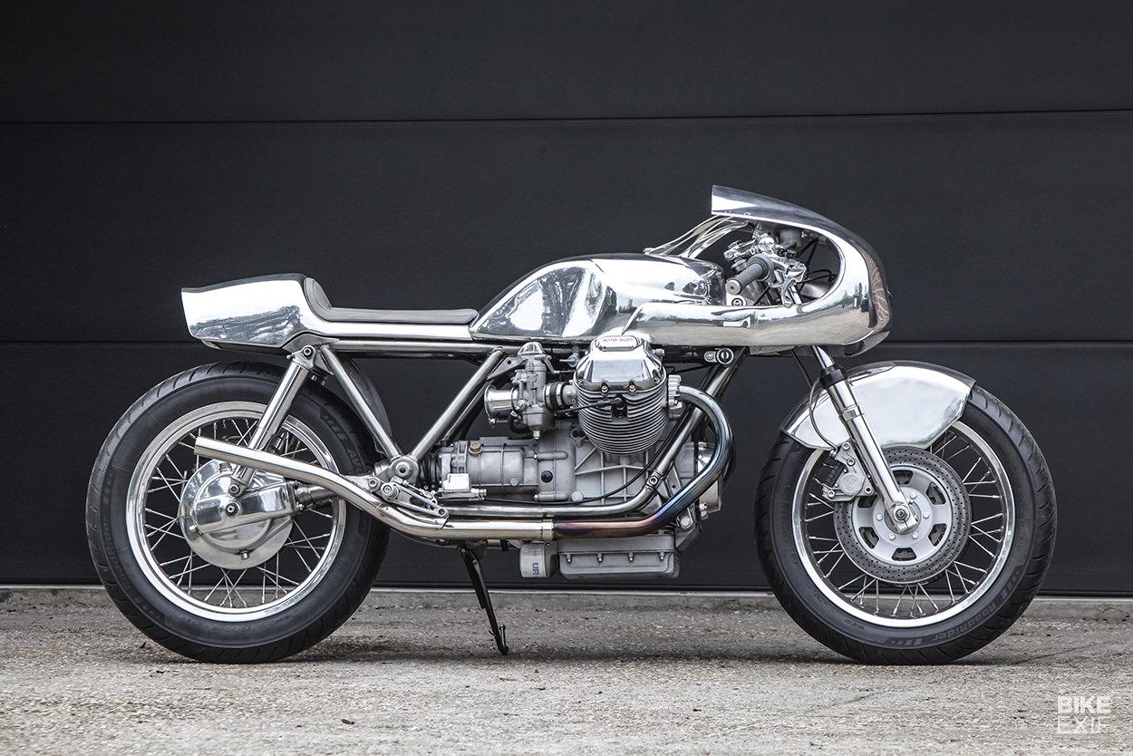 Moto Guzzi 1000SP cafe racer by Shiny Hammer