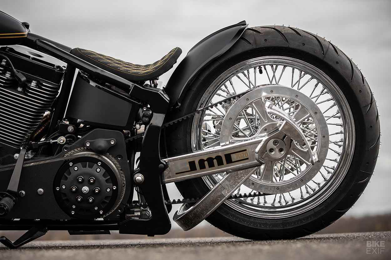S&S Cycle powered Softail by MB Cycles