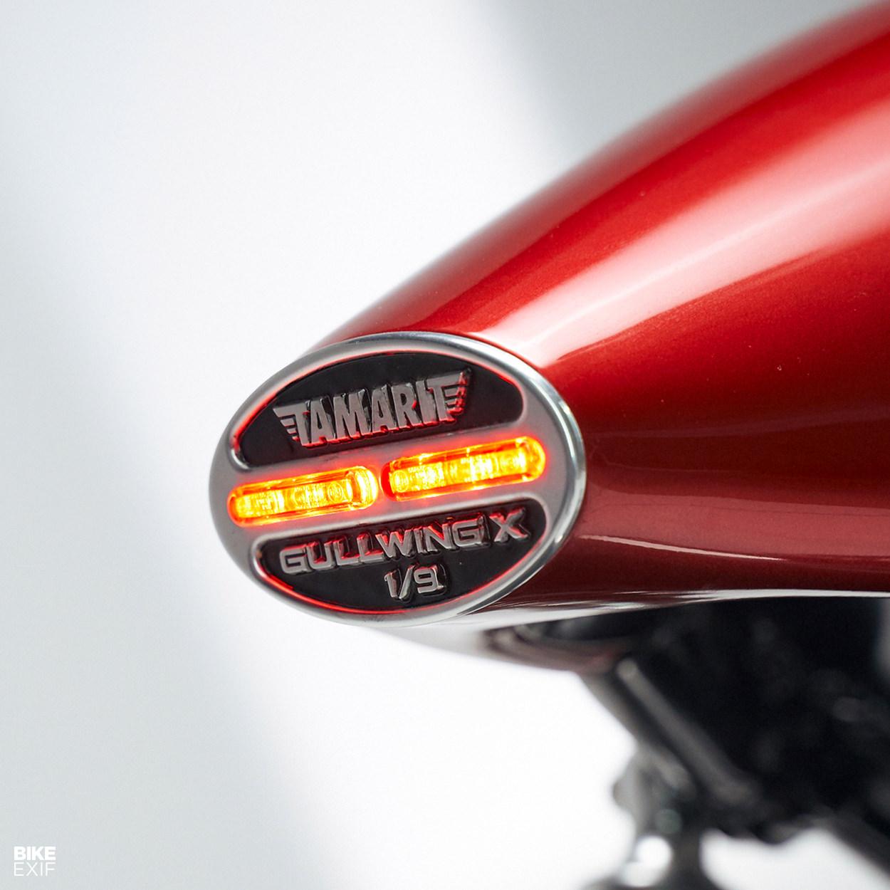 Triumph Thruxton Gullwing cafe racer by Tamarit