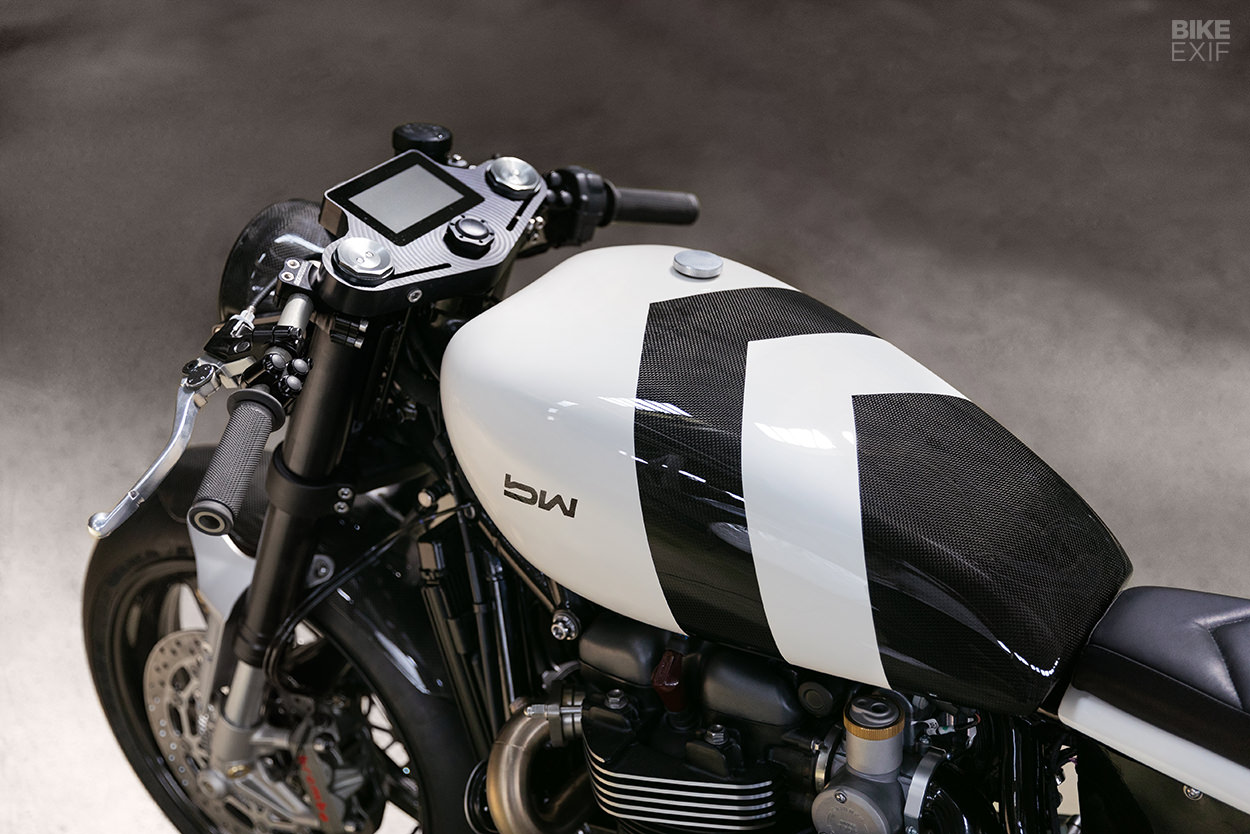 Triumph Thruxton 1200 RS custom kit by Bad Winners