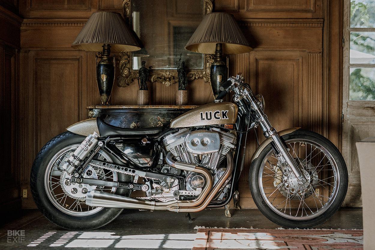 1994 Harley-Davidson Sportster custom by Lucky Cat Garage