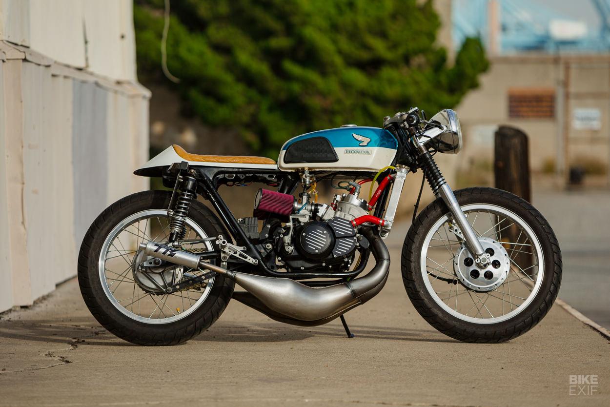 2-Stroke CL350 Honda cafe racer