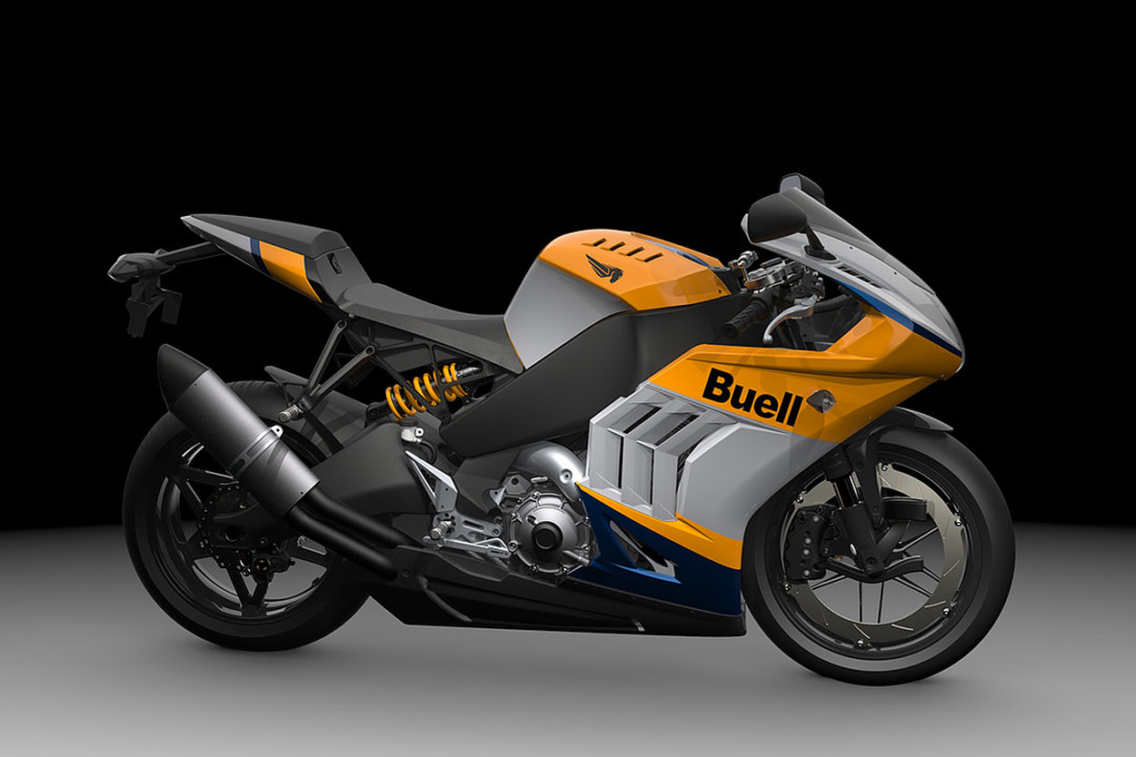 The 2021 Buell Hammerhead 1190RX