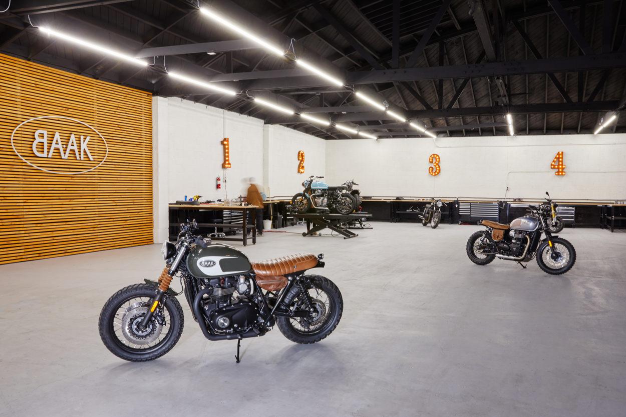 BAAK Motorcycles opens in Los Angeles