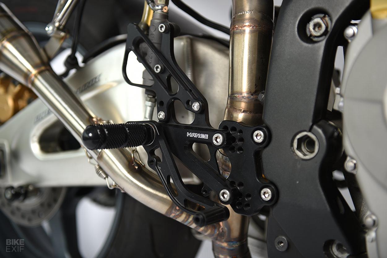 Custom Honda CBR600RR cafe racer by Francis Von Tuto