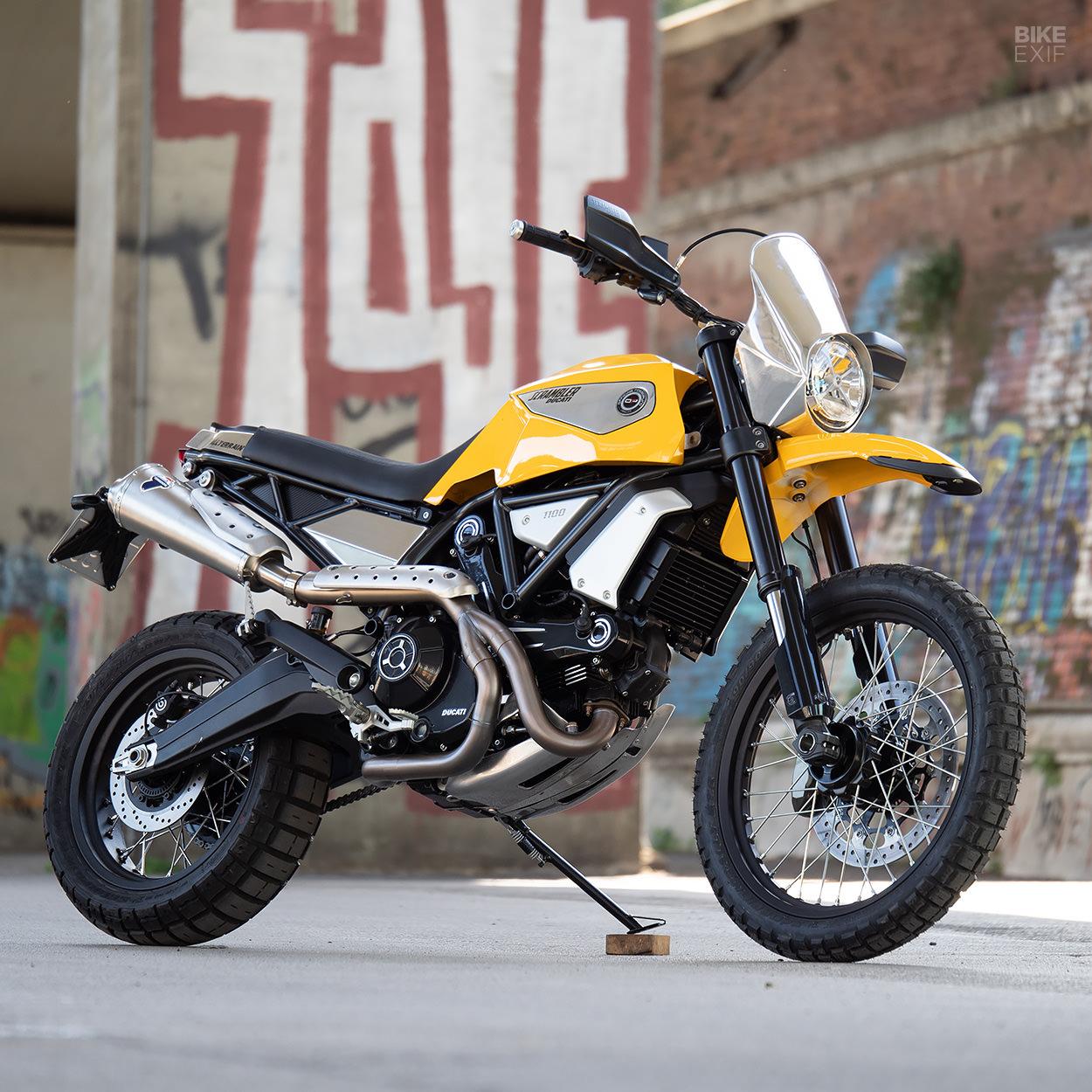 Ducati Scrambler 1100 by Officine RossoPuro