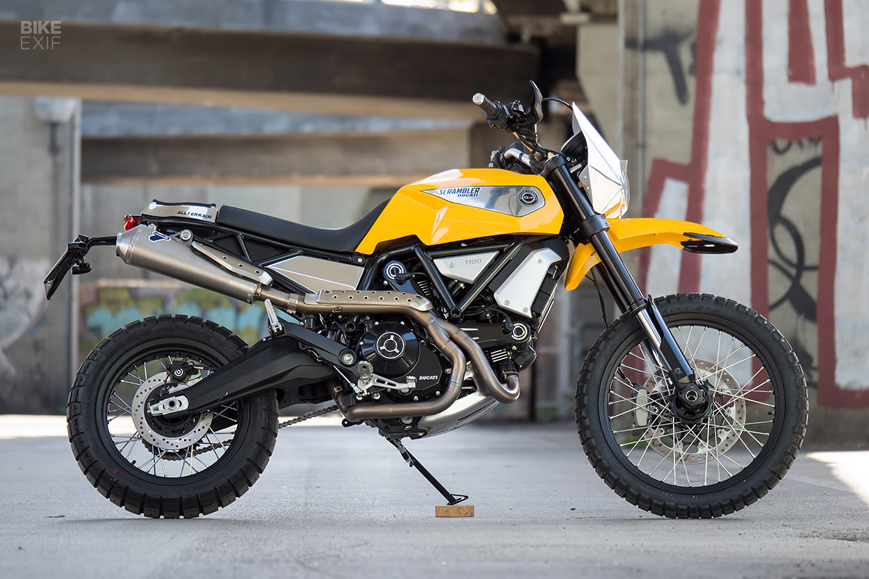 Ducati Scrambler 1100 by Officine RossoPuro