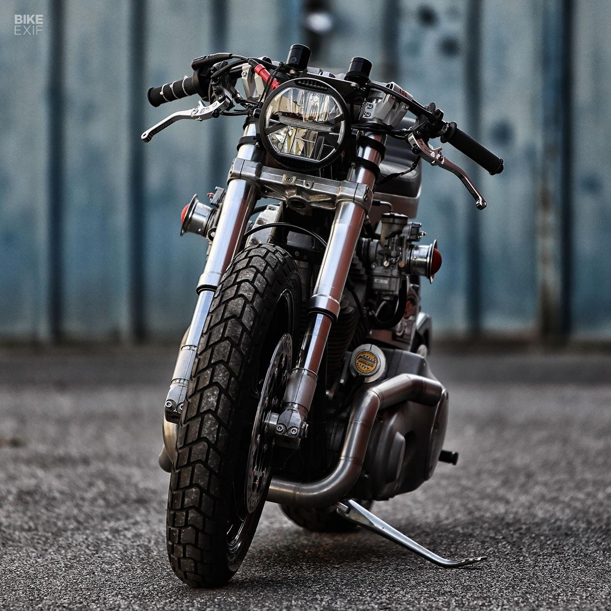 Harley-Davidson Softail sprint bike by BG-Garage Custom
