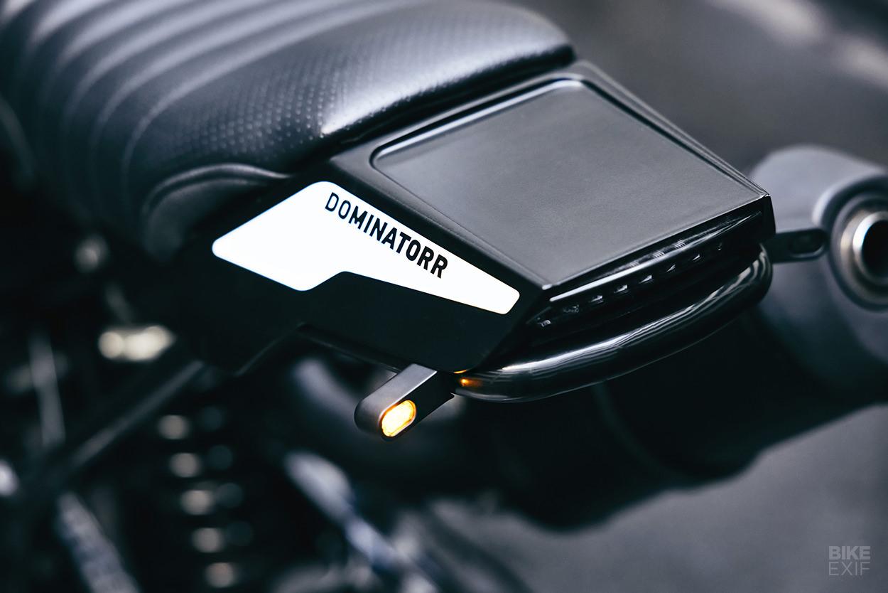 Custom Honda NX650 Dominator scrambler by Motoism